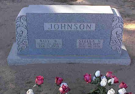 JOHNSON, ROY W. - Pinal County, Arizona | ROY W. JOHNSON - Arizona Gravestone Photos