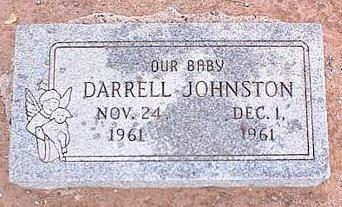 JOHNSTON, DARRELL - Pinal County, Arizona | DARRELL JOHNSTON - Arizona Gravestone Photos