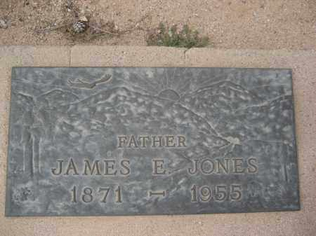 JONES, JAMES E. - Pinal County, Arizona | JAMES E. JONES - Arizona Gravestone Photos