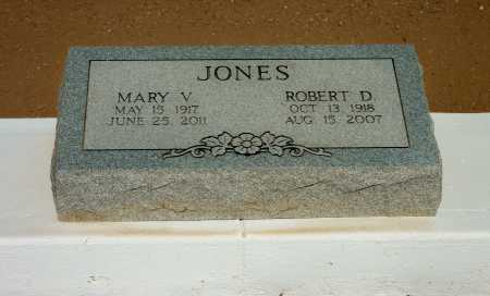 "JONES, MARY VIOLET ""VI"" - Pinal County, Arizona | MARY VIOLET ""VI"" JONES - Arizona Gravestone Photos"