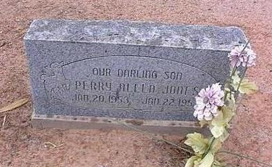 JONES, PERRY ALLEN - Pinal County, Arizona | PERRY ALLEN JONES - Arizona Gravestone Photos
