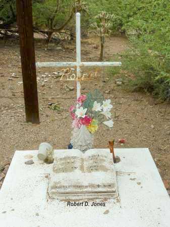 JONES, ROBERT  D. - Pinal County, Arizona | ROBERT  D. JONES - Arizona Gravestone Photos