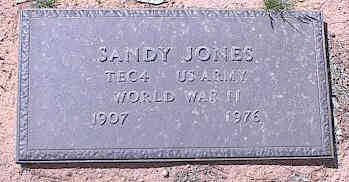 JONES, SANDY - Pinal County, Arizona | SANDY JONES - Arizona Gravestone Photos