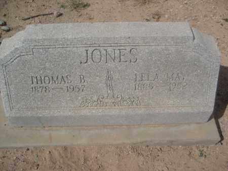 JONES, THOMAS B. - Pinal County, Arizona   THOMAS B. JONES - Arizona Gravestone Photos