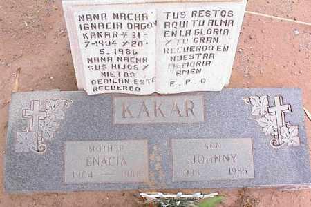KAKAR, JOHNNY - Pinal County, Arizona | JOHNNY KAKAR - Arizona Gravestone Photos
