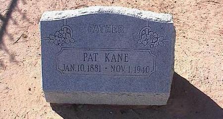 KANE, PAT - Pinal County, Arizona | PAT KANE - Arizona Gravestone Photos
