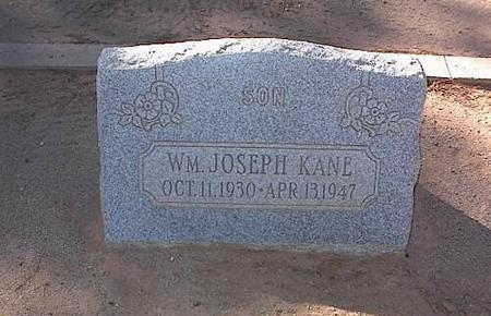 KANE, WILLIAM JOSEPH - Pinal County, Arizona | WILLIAM JOSEPH KANE - Arizona Gravestone Photos