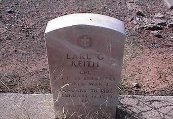 KEITH, EARL G. - Pinal County, Arizona | EARL G. KEITH - Arizona Gravestone Photos