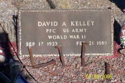 KELLEY, DAVID A. - Pinal County, Arizona | DAVID A. KELLEY - Arizona Gravestone Photos