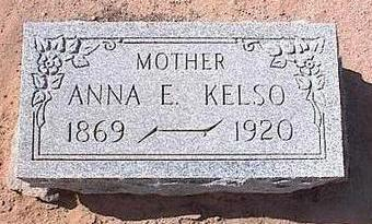 KELSO, ANNA ELIZABETH - Pinal County, Arizona | ANNA ELIZABETH KELSO - Arizona Gravestone Photos