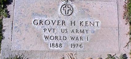 KENT, GROVER H. - Pinal County, Arizona | GROVER H. KENT - Arizona Gravestone Photos