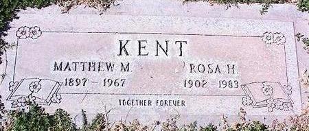 KENT, MATTHEW M. - Pinal County, Arizona | MATTHEW M. KENT - Arizona Gravestone Photos