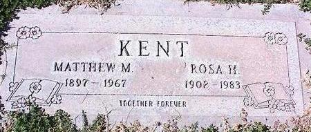 KENT, ROSA H. - Pinal County, Arizona | ROSA H. KENT - Arizona Gravestone Photos