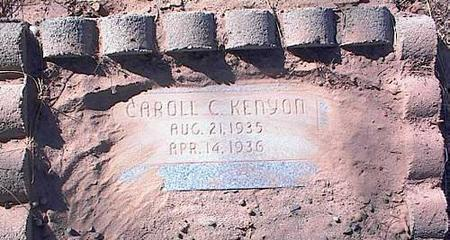 KENYON, CARROLL C. - Pinal County, Arizona | CARROLL C. KENYON - Arizona Gravestone Photos