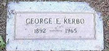 KERBO, GEORGE E. - Pinal County, Arizona | GEORGE E. KERBO - Arizona Gravestone Photos