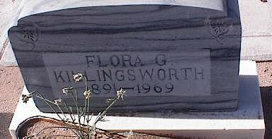 KILLINGSWORTH, FLORA G. - Pinal County, Arizona | FLORA G. KILLINGSWORTH - Arizona Gravestone Photos