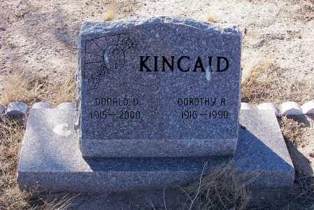 KINCAID, DONALD D. - Pinal County, Arizona | DONALD D. KINCAID - Arizona Gravestone Photos