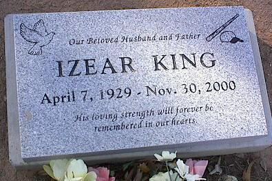 KING, IZEAR - Pinal County, Arizona | IZEAR KING - Arizona Gravestone Photos