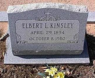 KINSLEY, ELBERT L. - Pinal County, Arizona   ELBERT L. KINSLEY - Arizona Gravestone Photos