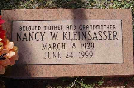 KLEINSASSER, NANCY W. - Pinal County, Arizona | NANCY W. KLEINSASSER - Arizona Gravestone Photos