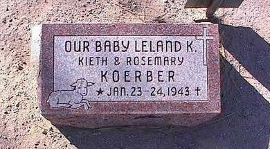 KOERBER, LELAND K. - Pinal County, Arizona | LELAND K. KOERBER - Arizona Gravestone Photos