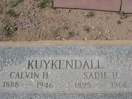 KUYKENDALL, CALVIN H. - Pinal County, Arizona | CALVIN H. KUYKENDALL - Arizona Gravestone Photos