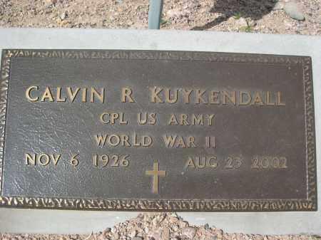 KUYKENDALL, CALVIN R. - Pinal County, Arizona | CALVIN R. KUYKENDALL - Arizona Gravestone Photos