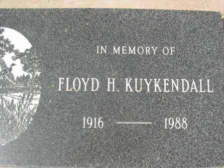 KUYKENDALL, FLOYD H. - Pinal County, Arizona | FLOYD H. KUYKENDALL - Arizona Gravestone Photos