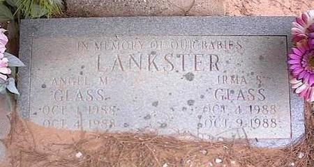 LANKSTER, IRMA S. GLASS - Pinal County, Arizona | IRMA S. GLASS LANKSTER - Arizona Gravestone Photos