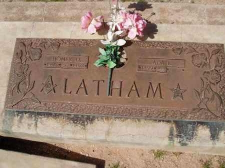 LATHAM, ADA B. - Pinal County, Arizona   ADA B. LATHAM - Arizona Gravestone Photos