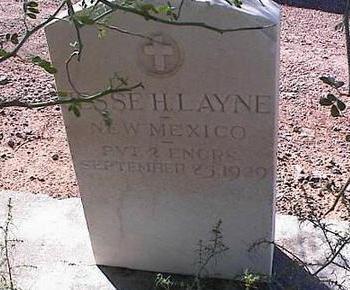 LAYNE, JESSE H. - Pinal County, Arizona | JESSE H. LAYNE - Arizona Gravestone Photos