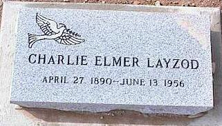 LAYZOD, CHARLIE ELMER - Pinal County, Arizona | CHARLIE ELMER LAYZOD - Arizona Gravestone Photos