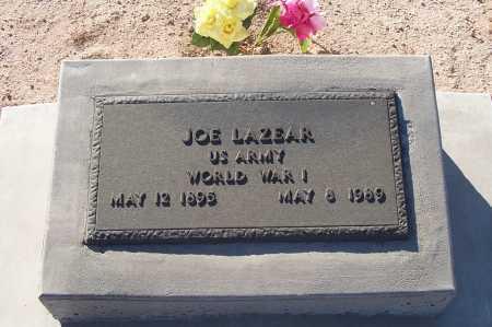 LAZEAR, JOE - Pinal County, Arizona   JOE LAZEAR - Arizona Gravestone Photos
