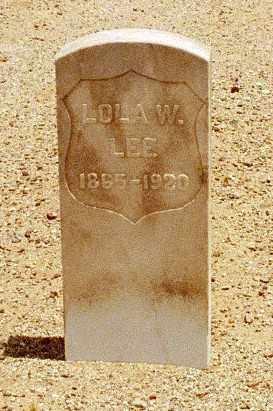 LEE, LOLA - Pinal County, Arizona | LOLA LEE - Arizona Gravestone Photos