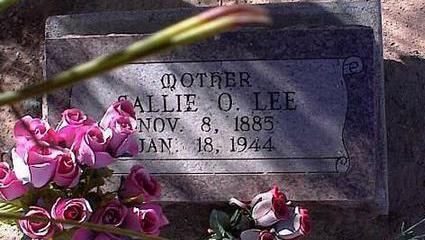 LEE, SALLIE O. - Pinal County, Arizona | SALLIE O. LEE - Arizona Gravestone Photos