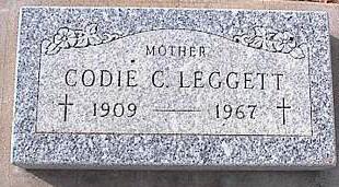 LEGGITT, CODIE C. - Pinal County, Arizona | CODIE C. LEGGITT - Arizona Gravestone Photos