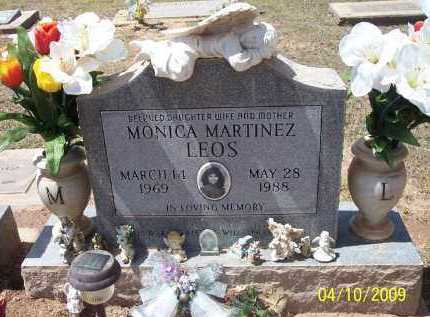 LEOS, MONICA  MARTINEZ - Pinal County, Arizona | MONICA  MARTINEZ LEOS - Arizona Gravestone Photos