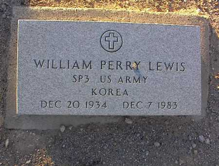 LEWIS, WILLIAM PERRY - Pinal County, Arizona | WILLIAM PERRY LEWIS - Arizona Gravestone Photos