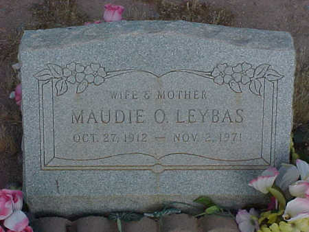 LEYBAS, MAUDIE  O. - Pinal County, Arizona | MAUDIE  O. LEYBAS - Arizona Gravestone Photos