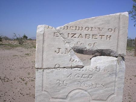 LILE, ELIZABETH - Pinal County, Arizona | ELIZABETH LILE - Arizona Gravestone Photos