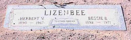 LIZENBEE, HERBERT V - Pinal County, Arizona | HERBERT V LIZENBEE - Arizona Gravestone Photos