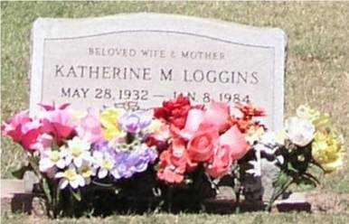 LOGGINS, KATHERINE M - Pinal County, Arizona   KATHERINE M LOGGINS - Arizona Gravestone Photos