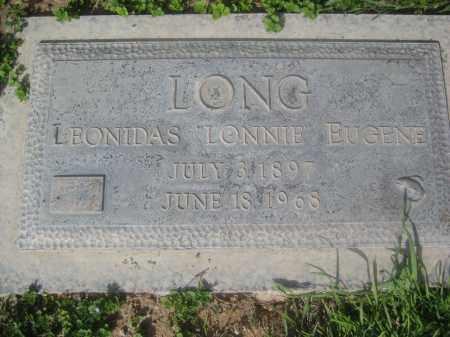 LONG, LEONIDAS EUGENE - Pinal County, Arizona | LEONIDAS EUGENE LONG - Arizona Gravestone Photos