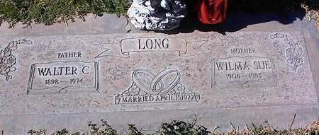 LONG, WALTER C. - Pinal County, Arizona | WALTER C. LONG - Arizona Gravestone Photos