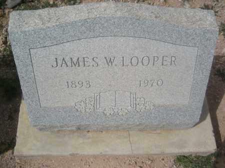 LOOPER, JAMES W. - Pinal County, Arizona   JAMES W. LOOPER - Arizona Gravestone Photos