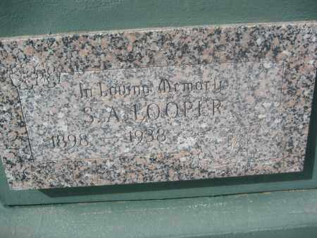 LOOPER, S.A. - Pinal County, Arizona | S.A. LOOPER - Arizona Gravestone Photos