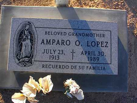 LOPEZ, AMPARO O. - Pinal County, Arizona | AMPARO O. LOPEZ - Arizona Gravestone Photos