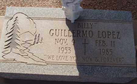 """LOPEZ, GUILLERMO """"BILLY"""" - Pinal County, Arizona   GUILLERMO """"BILLY"""" LOPEZ - Arizona Gravestone Photos"""