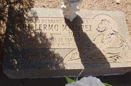 LOPEZ, GUILLERMO M. - Pinal County, Arizona   GUILLERMO M. LOPEZ - Arizona Gravestone Photos