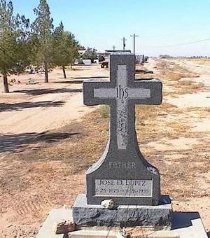 LOPEZ, JOSE D. - Pinal County, Arizona | JOSE D. LOPEZ - Arizona Gravestone Photos